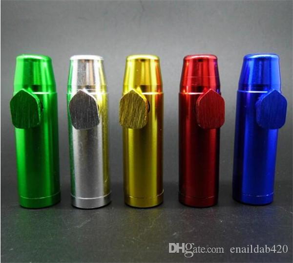 Yüksek Kaliteli Metal Borular Mermi Sigara Boru satılık 53mm uzunluk Taşınabilir Sigara Borular ücretsiz kargo
