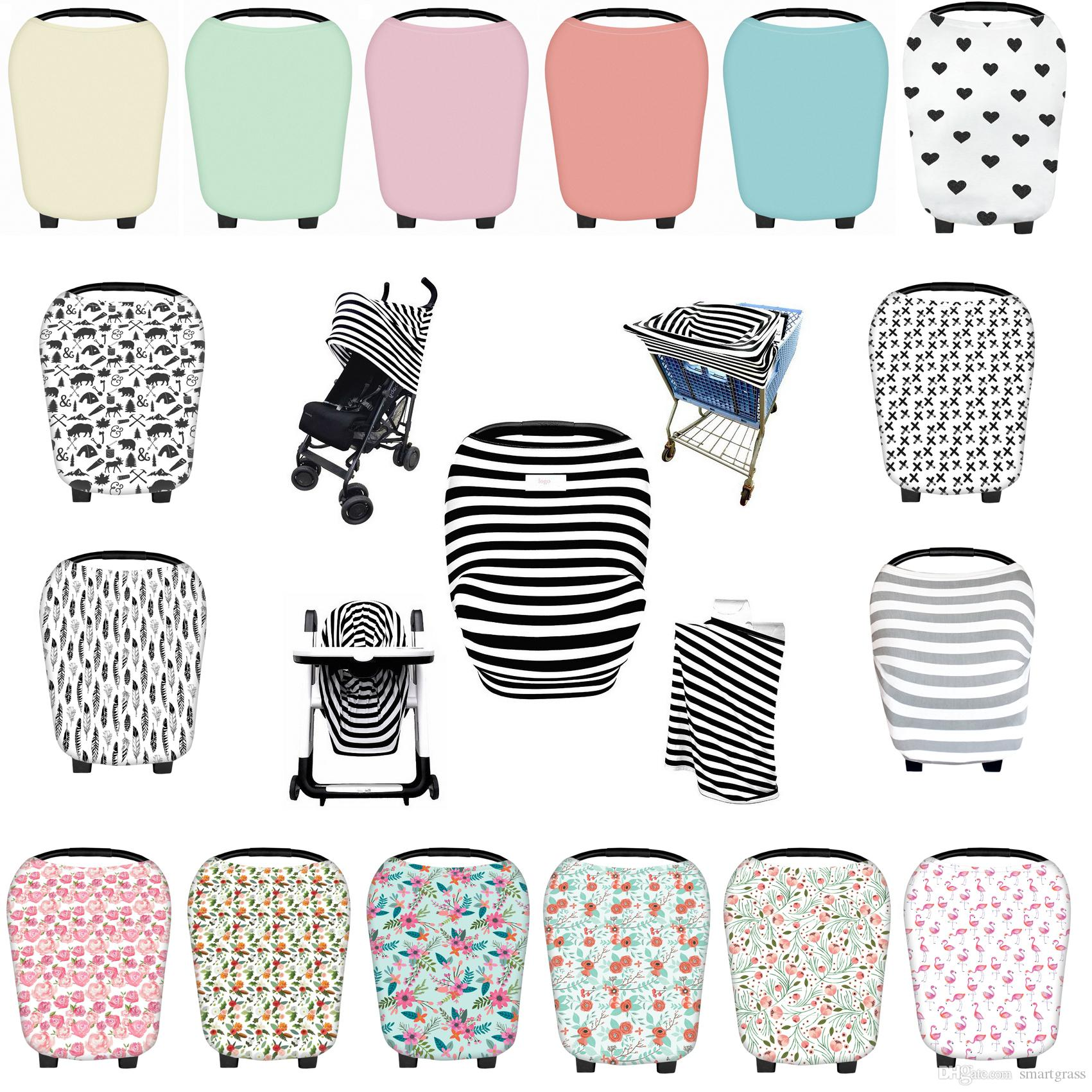 2017 29 patterns stroller covers feather printed baby car sets