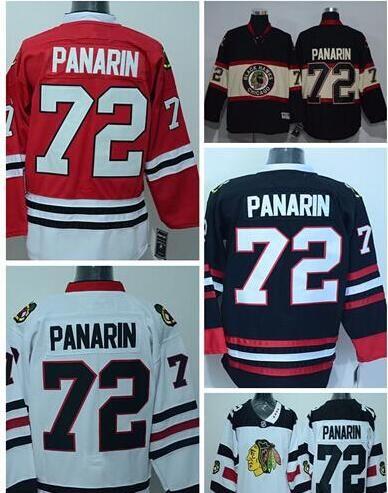 cd6b984b080 ... 2017 2016 Stadium Series Chicago Blackhawks 72 Artemi Panarin Jersey  Red White Black Ice Hockey Artemi .
