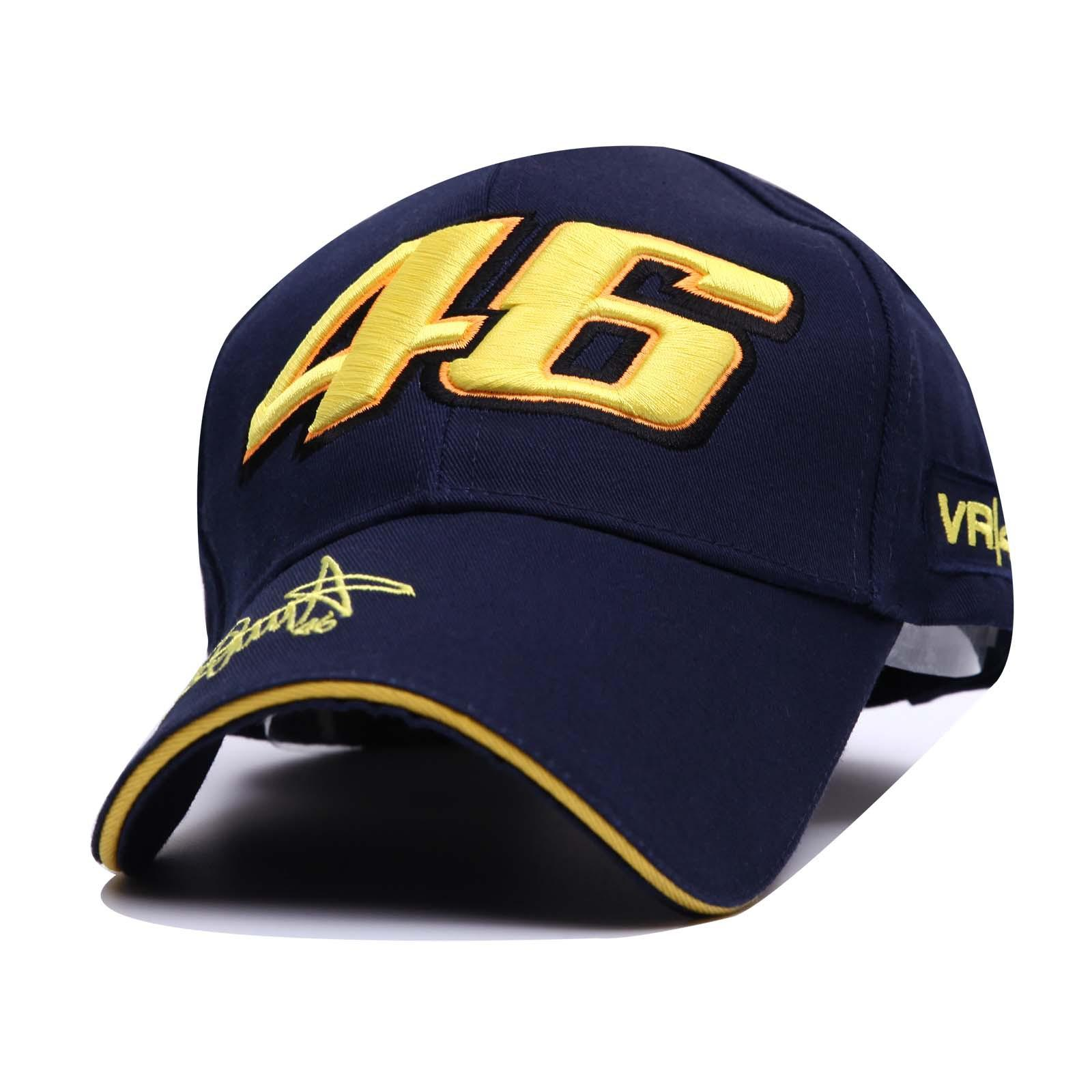 2019 Valentino Rossi VR46 Moto GP Baseball Cap Hat 3D Embroidered  Motorcycle Hat Racing Cap Sports Baseball Cap From Chenyifaer 00e1476c2bd9