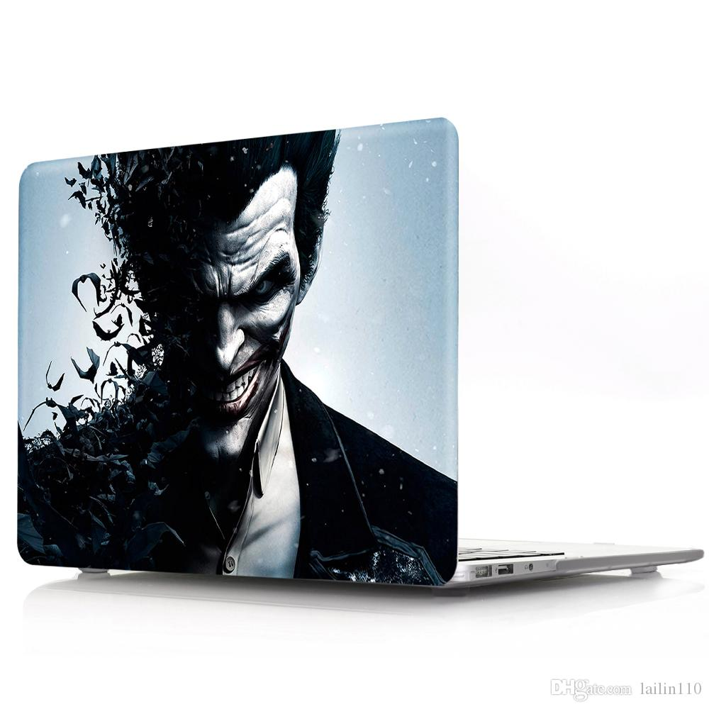 Clown-1 Oil painting Case for Apple Macbook Air 11 13 Pro Retina 12 13 15 inch Touch Bar 13 15 Laptop Cover Shell