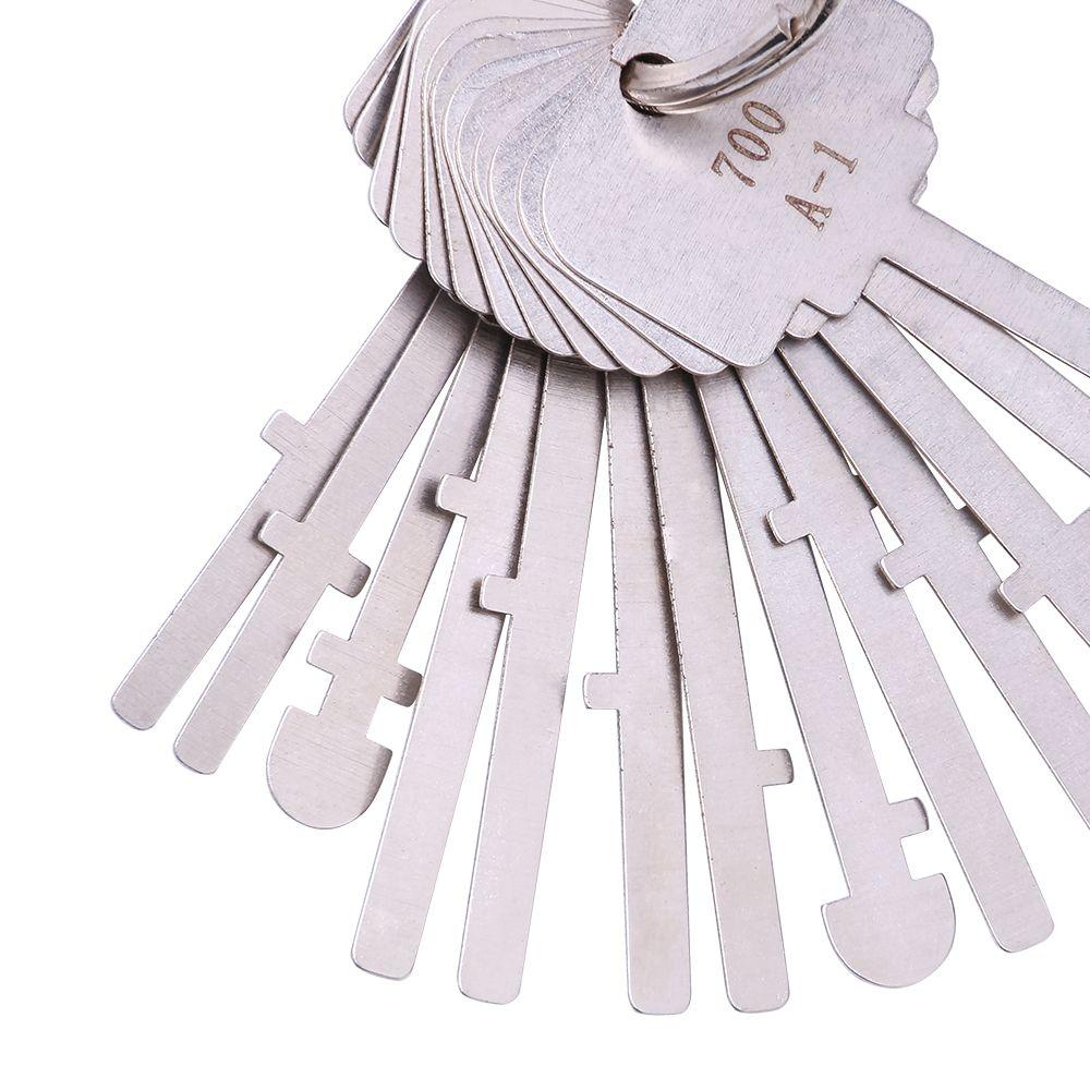 Set di chiavi KLOM Warded 40 tasti Chiavi di blocco del reparto Warded Lock Skeleton Key Warded Keys Sblocca gli strumenti i fabbri professionisti