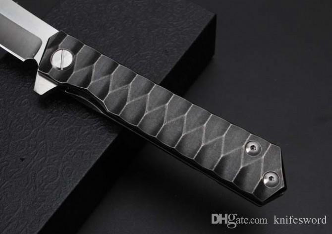 100% high quality razors full titanium handle & fine workmanship razor sharp & can send friends