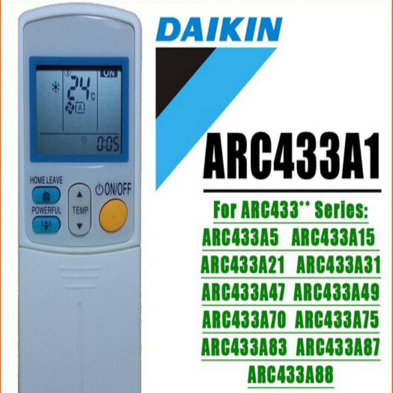 Wholesale- (NEW) GENERIC DAIKIN air conditioning remote control DAIKIN  ARC433A1 ARC433B47 ARC433A6 ARC433A75 ARC433A83 ARC433B71 ARC433**