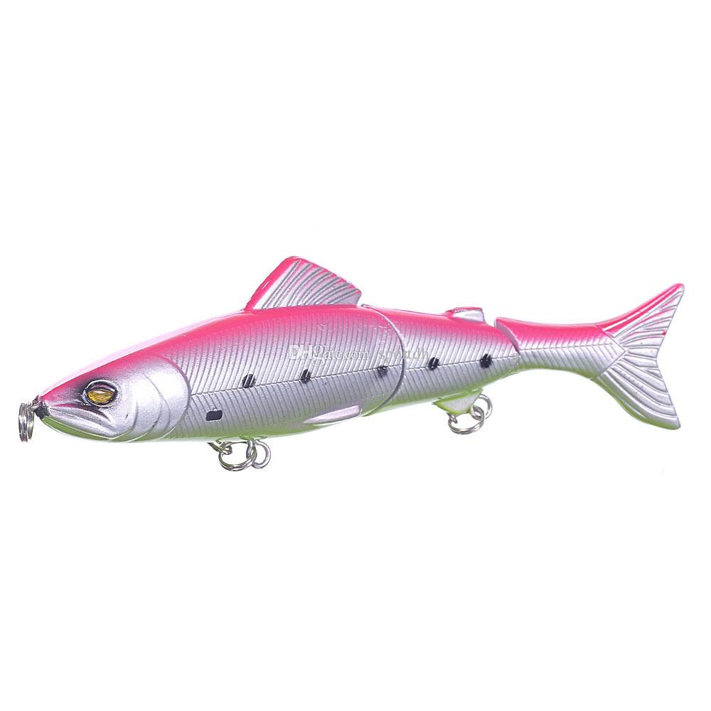 Fishing Lures Spinner Baits Crankbait Assorted Fish Tackle Hooks F00489