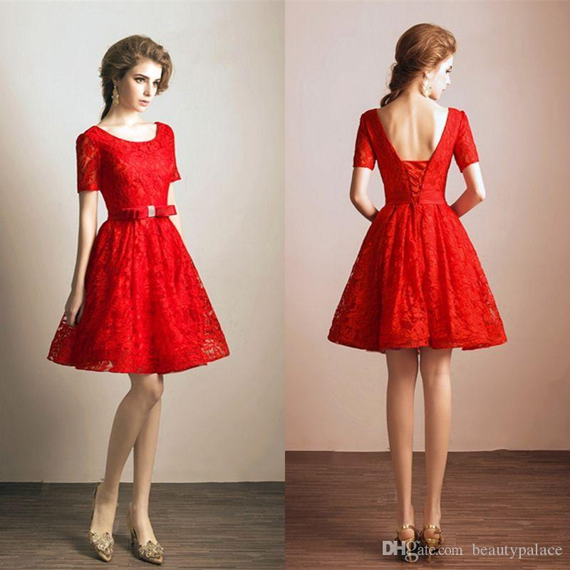 Red Wedding Dresses Non-Traditional Reception