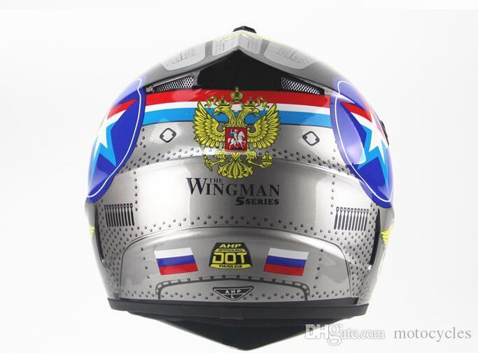 Motorcycle Parts of Helmets DOT Motorcycle Adult Motocross Off Road Helmets Downhill MTB DH Racing Helmet Cross Helmets