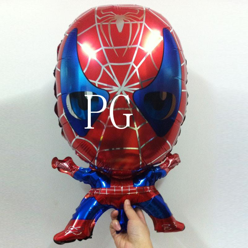 Spiderman Balloon Helium Foil Balloons Cartoon Spider Man For Boy Birthday Decoration Party Supplies In A Hotair From