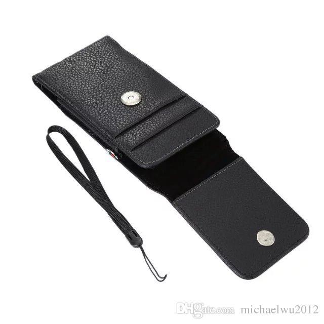 360 Rotation Clip Universal Gürtel Coque Phone Case für Apple iPhone 6 6S 7 Plus Samsung S6 S7 Edge Leder Tasche 4.0-6.3inch Pouch