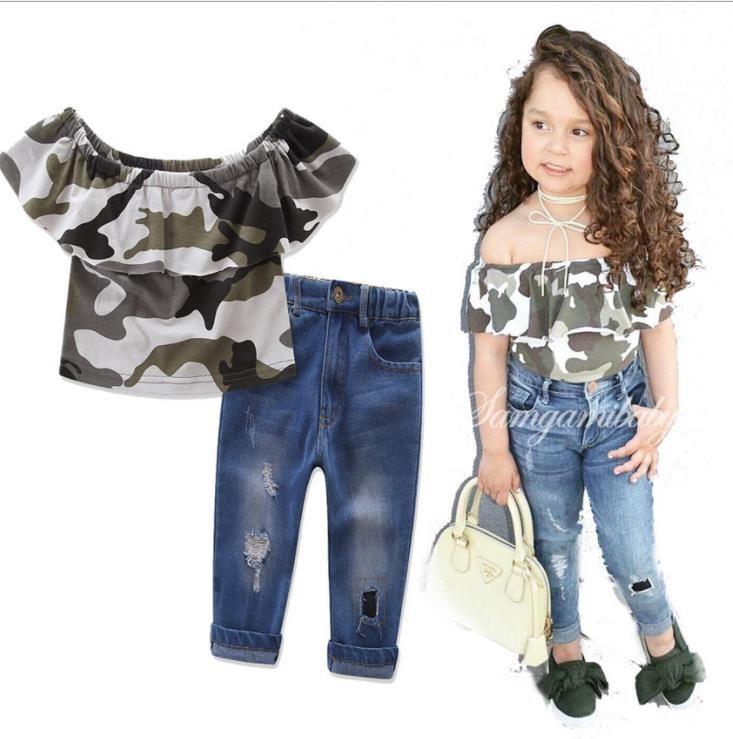 Camouflage Jeans Women