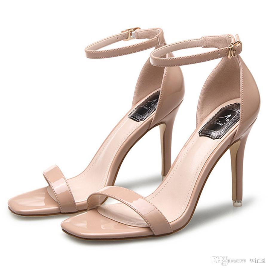 8af0a324e556 Großhandel Hot Billig Frauen High Heels Sandalen Schuhe Mode Stil Weibliche  Schuhe Billig Pumpen Schuhgeschäft Online Kaufen Damen Sexy Name Marke  Outlet ...