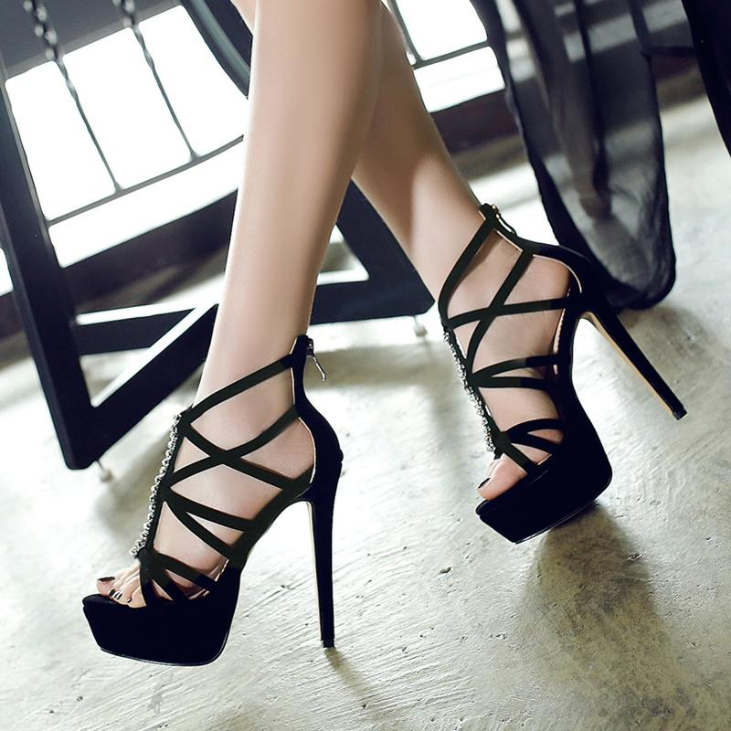 Sexy lace shoes