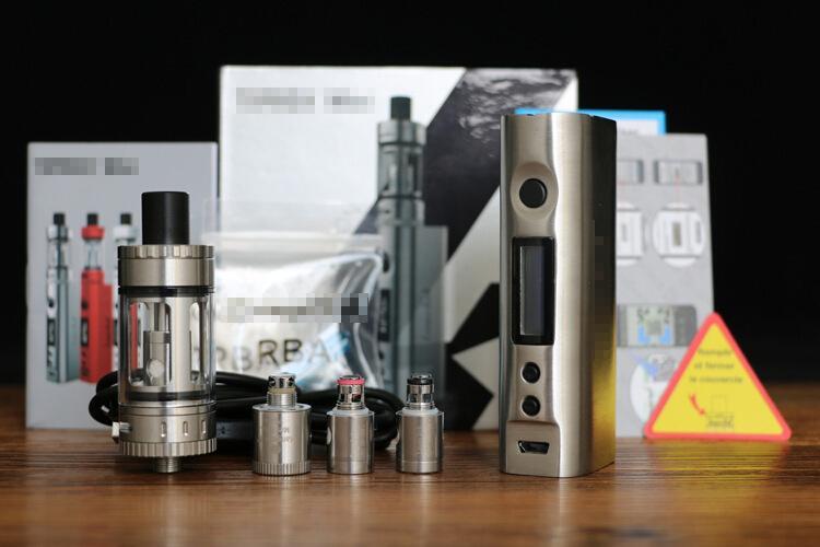Retail High quality Topbox Mini 75W TC Starter Kit with KBOX Mini Box Mod Top Filling kanger Toptank Mini Atomizers pro SSOCC e-cigs