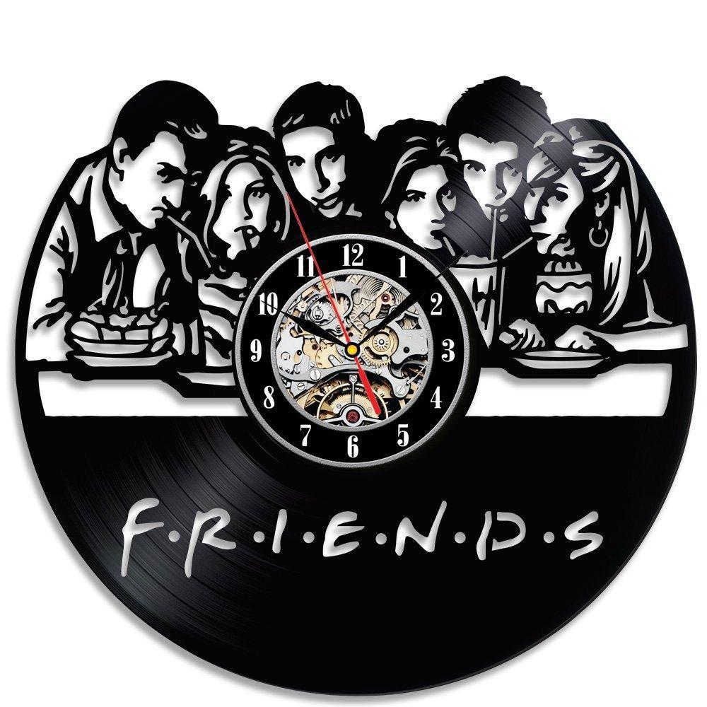 Großhandel Freunde Beliebte Tv Serie Vinyl Wanduhr ...
