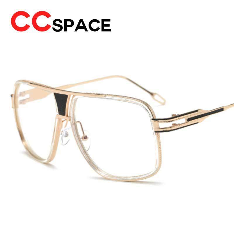 a11bb6cc35 2019 Wholesale Eye Glasses Frame Man Women Vintage Retro Reading Glasses  Metal Square Mirror Shades Clear Lenses Transparent Eyewear Frames From  Goodlines