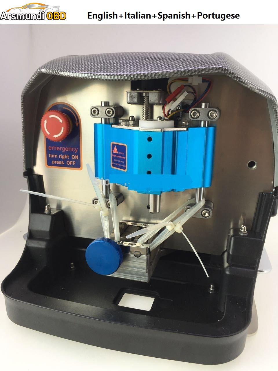 Factory price Automatic KCM Auto key cutting machine updated from V8X6 key  cutting machine Better than Slica Key Machine