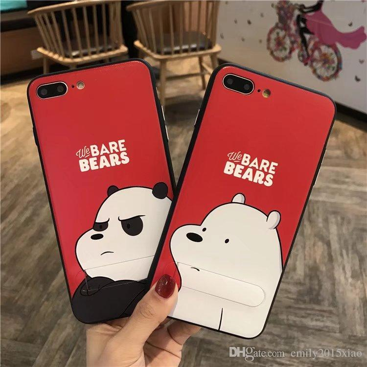 kpop iphone cases korean we bare bears soft tpu silicone phone cases 12558