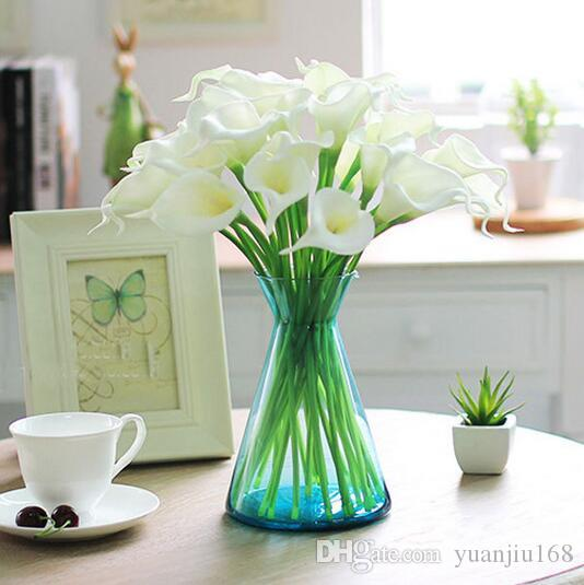 New Arrival Calla Lily Home decoration Flower Artificial Flower Bridal Bouquet Wedding Party Flower Craft G396