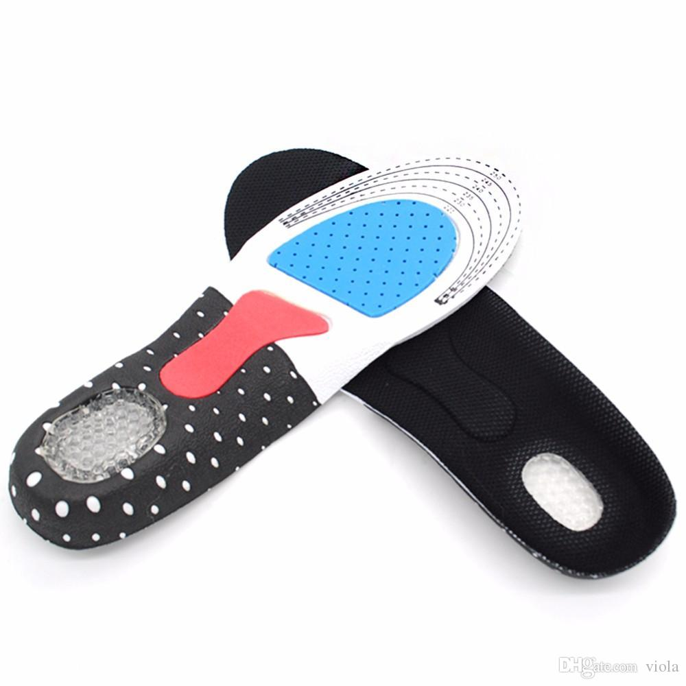 Silicone Gel Shoe Insoles shoe cushion Sport Running Insoles Insert Shoe Pad Arch Support Cushion Orthotic Arch Support pad