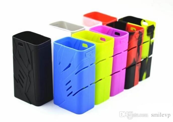 Colorful silicon case protective skin sleeve bag wrap for smok t-priv 220w mod silicone case DHL free