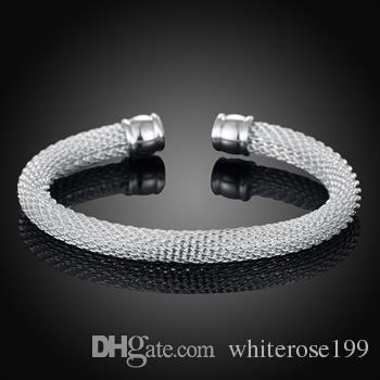 Wholesale - Retail lowest price Christmas gift, new 925 silver fashion Bracelet B040