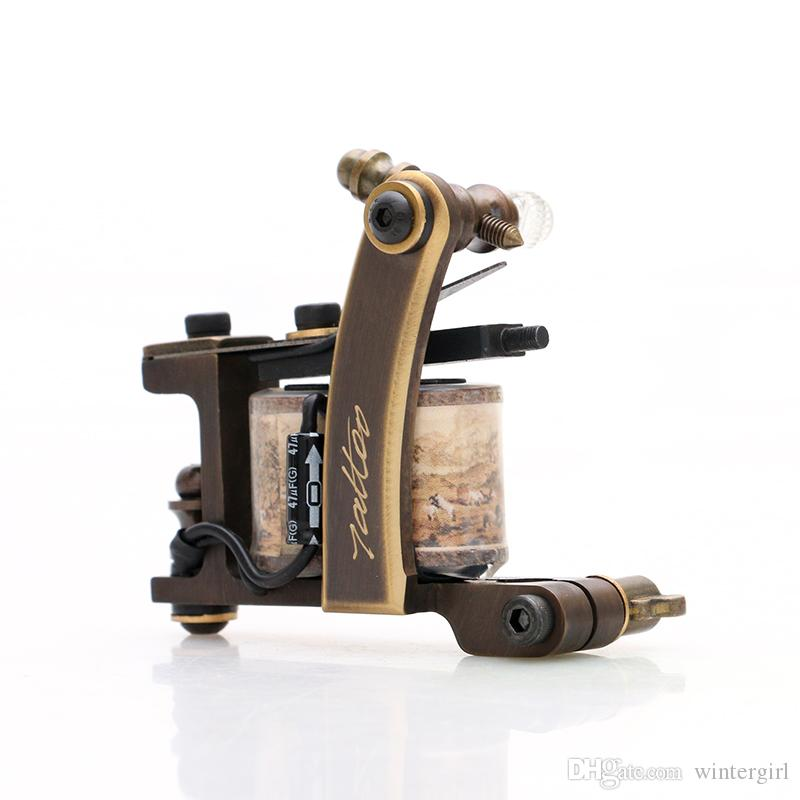 New! Top Sale Tattoo Machine High Quality Handmade Tattoo Shader Gun for Tattoo Kit Supply TM452