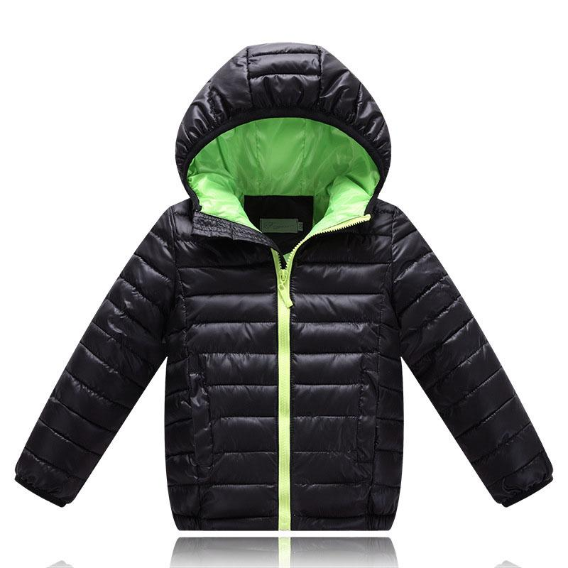 Winter Jackets For Girls Boys Jackets Light Down Cotton Coats Boys ...