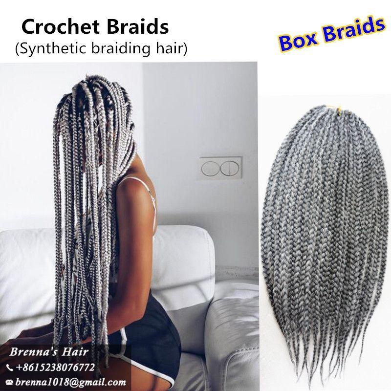 2019 Free Ship 3x Freetress Jumbo Box Braids Crochet Braids Hair
