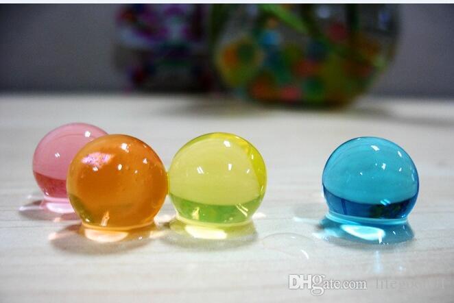 1000 حقيبة / 3000 ~ 4000 قطع الجاف 9-10 ملليمتر سوبر التنين Orbeez.50mm في الماء حبات الماء الحيوي جل الكرة. كريستال paintball. ماجيك جيلي الكرة