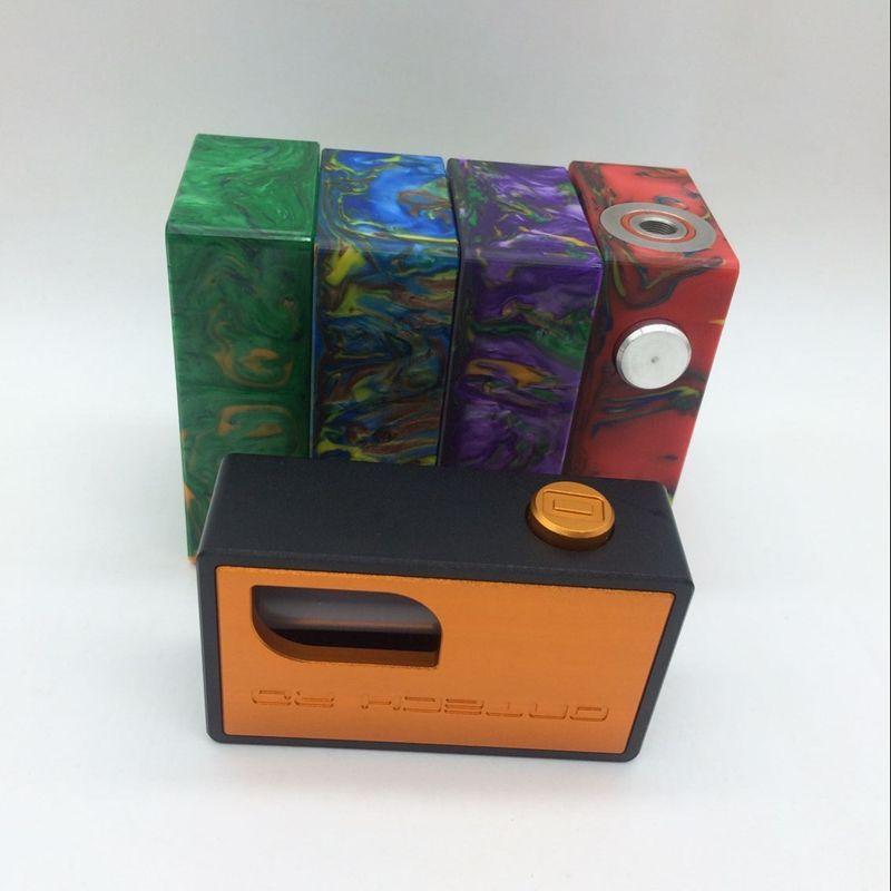 Le plus récent Ontech rd boîte bf Clone résine boîte d'alimentation bas mod boîte AL icarus bf métal Mod de haute qualité Vente chaude DHL gratuit