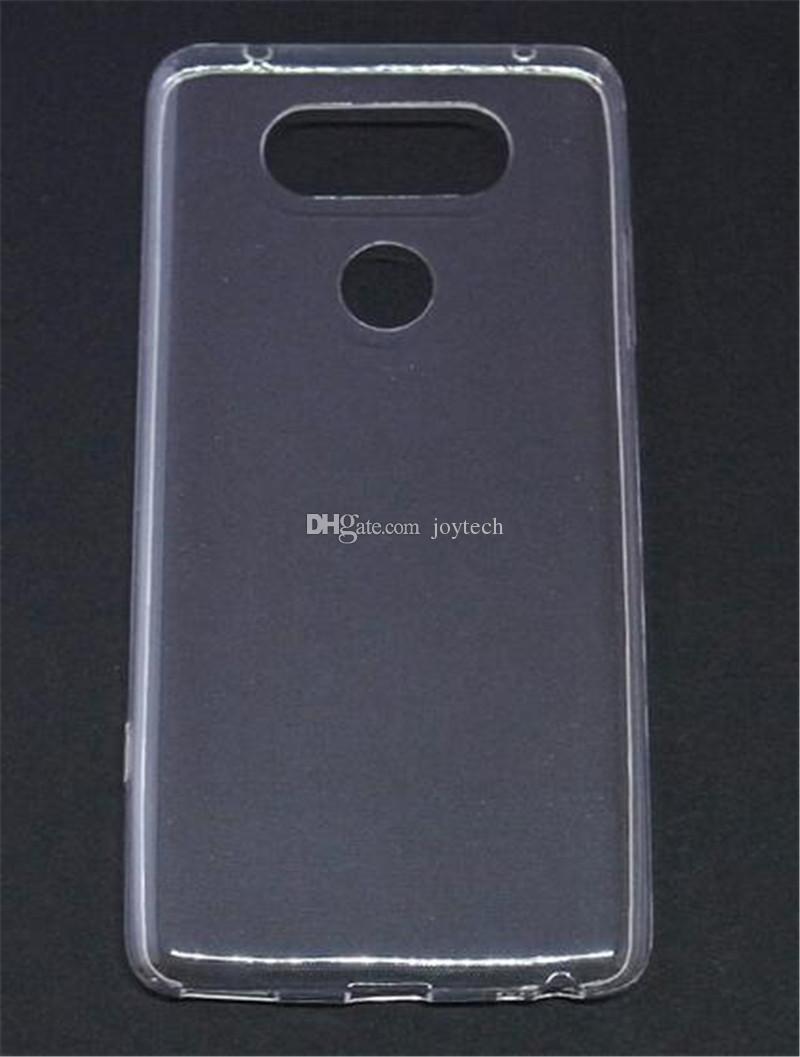watch 65361 d53d9 For lg v20 v10 Slim Transparent Clear Crystal TPU Gel Soft Phone Back Case  Cover Anti watermark case