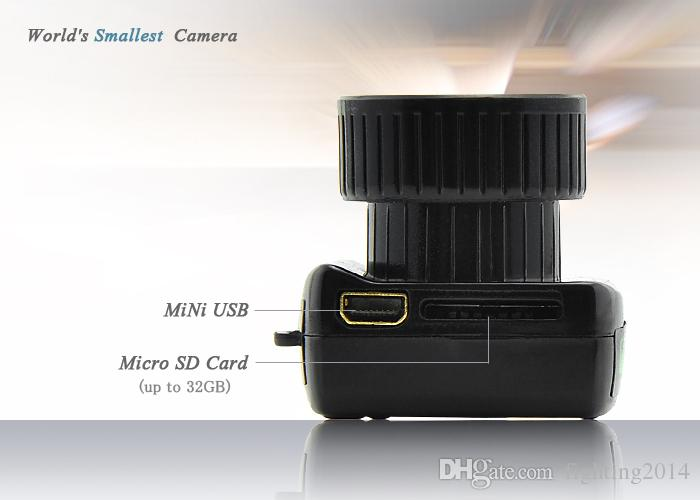 Mini Kamera Y2000 HD Cep Mini DV Webcam Video Ses Kaydedici Mikro Kam Küçük Camara Dijital Mini Kamera