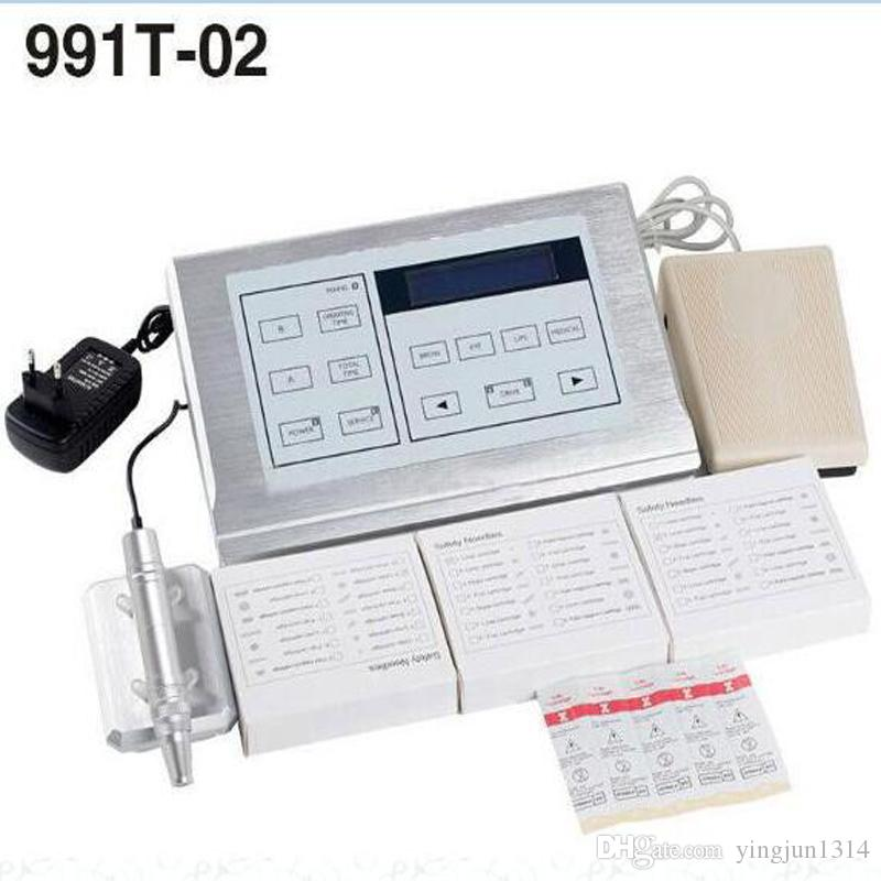 Hot Nouveau Contour Style Multifunction Kit Professional Tattoo&Permanent New 991T-02 Makeup Rotary Machine Kit Fast Shipping