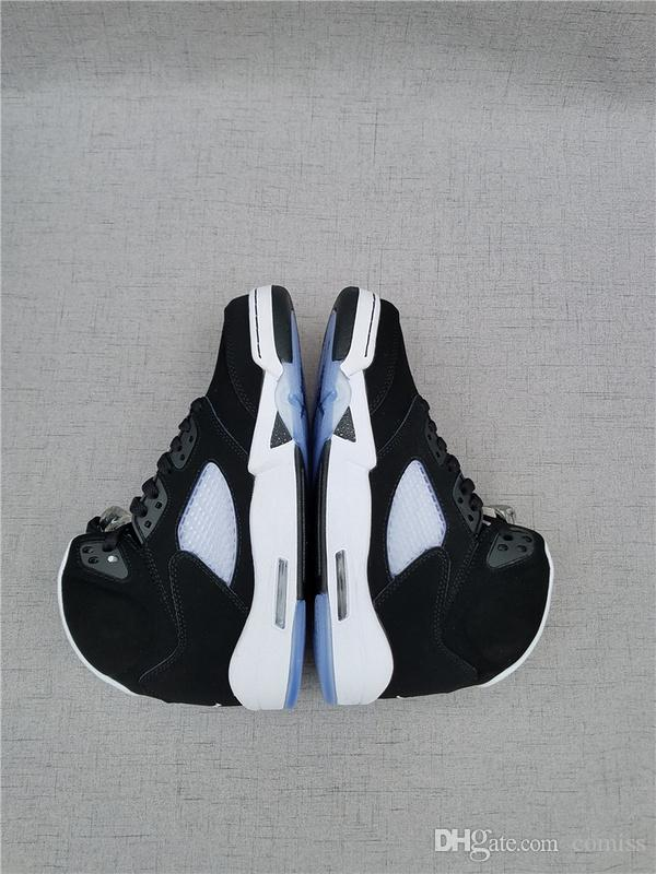 5 v retro oreo size 11 black white brand new 5s mens sport shoes 5 v retro oreo size 11 black white brand new 5s mens sport shoes wholesale good quality fashion design sale online sneakers for men shoes for sale from sciox Images