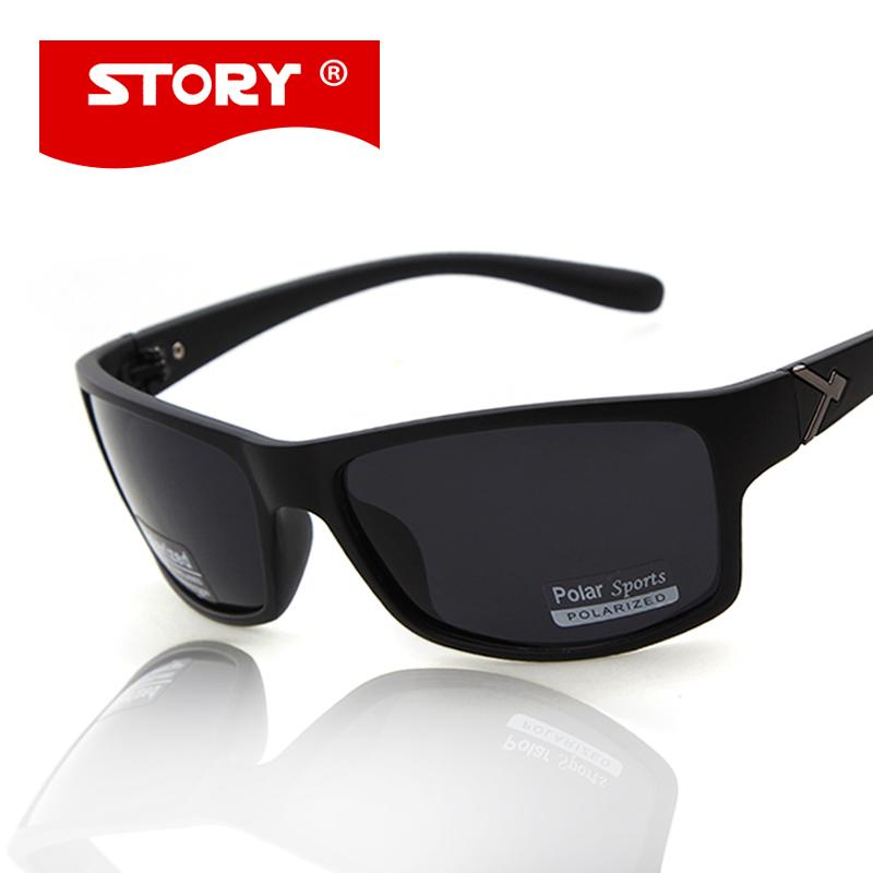 c388fd3790d4 Wholesale STORY 2017 Sports Men Sunglasses Shield Shape Polarized Male  Gafas De Sol Brand Design Fishing Eyewear Top Quality Glasses Frames Glasses  Online ...