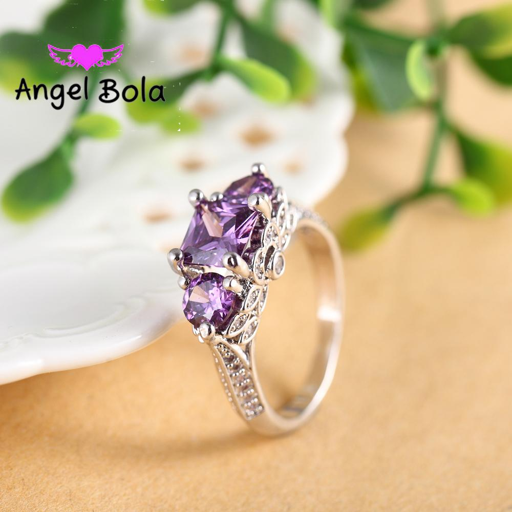 1 CZ simulate diamond ring for women Luxury 925 sterling Silver ring,engagement ring for women,bridal gift for girl-AB033