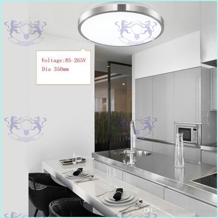 LED tavan ışıkları Dia 350mm 220 V 230 V 240 V 16 W 36 W 45 W Led Lamba Modern Led Tavan Işıkları Oturma Odası Için Destek