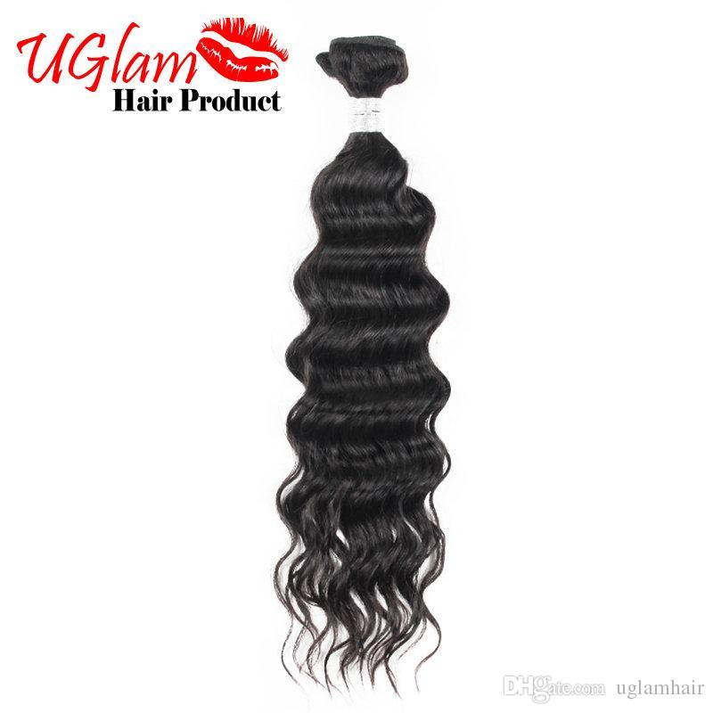 Uglam Hair Sample Order Nature Wave Malaysian Virgin Human Hair Weaves Malaysian Top Quality hair bundes
