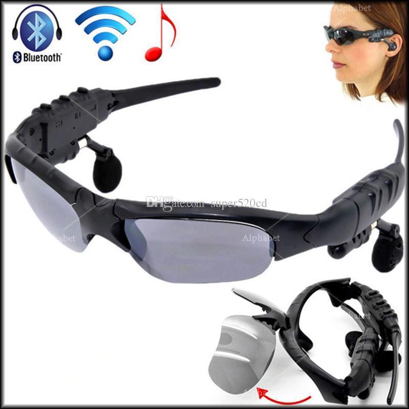 eb72977e94 Wireless Bluetooth V4.1 Sunglasses Headset Smart Glasses Stereo Sports  Headphone Handsfree Earphones Music Player For IPhone Samsung HTC Smart  Glasses Wiki ...