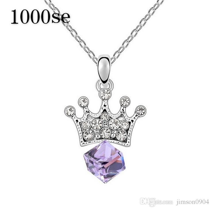 2017 new A genuine using SWAROVSKI Elements Crystal Necklace - Princess Lover high-end jewelry wholesale manufacturers sale