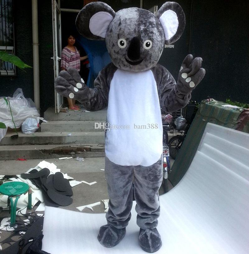 Caráter da mascote do Koala Personagem de banda desenhada Tamanho adulto Longteng alta qualidade TM