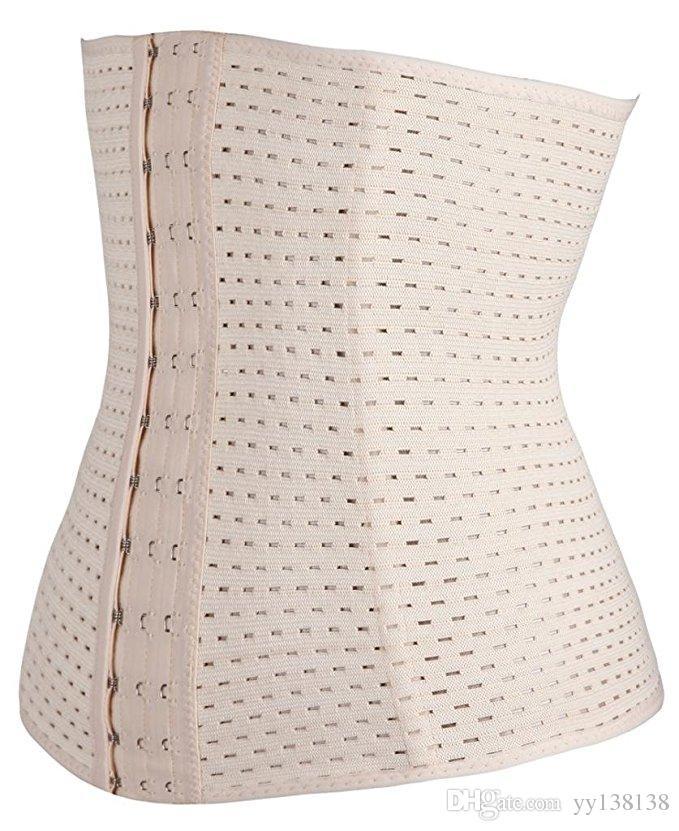 Corsé hueco delgado cinturón XS-5XL Body Trainer cintura de las mujeres que adelgazan Fajas de formación corsés Reductora cuerpo caliente talladora mas pechugona Trainer cadera