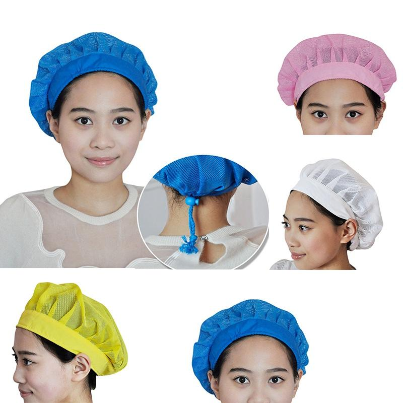 089166ab2 Chef Cooking Hats Breathable Mesh Adjustable Dust Cap Restaurant Uniform  Work Wear Kitchen Cap Food Service Hair Accessory For Buns Hair Doughnut  From ...