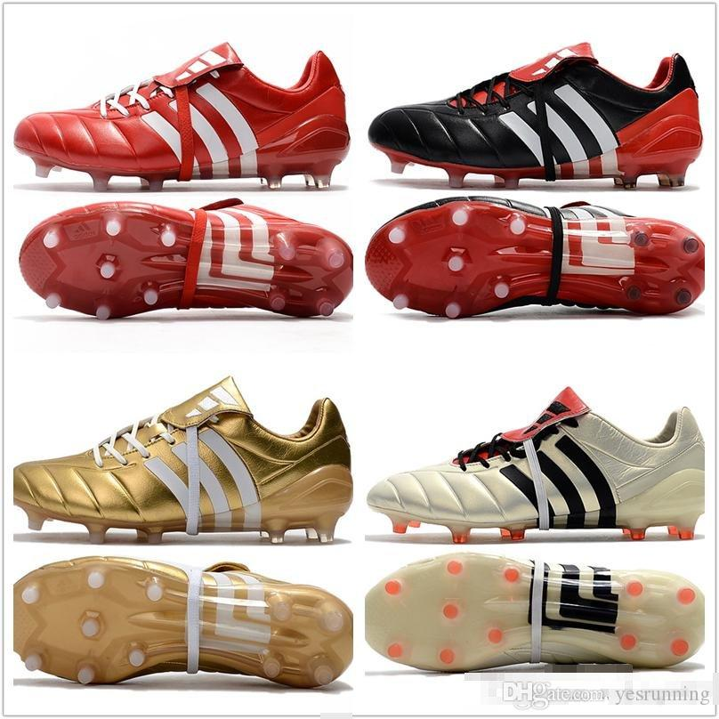 3d908f59bda9 2017 mens adidas predator mania champagne fg soccer shoes football boots  lows men soccer cleats turf