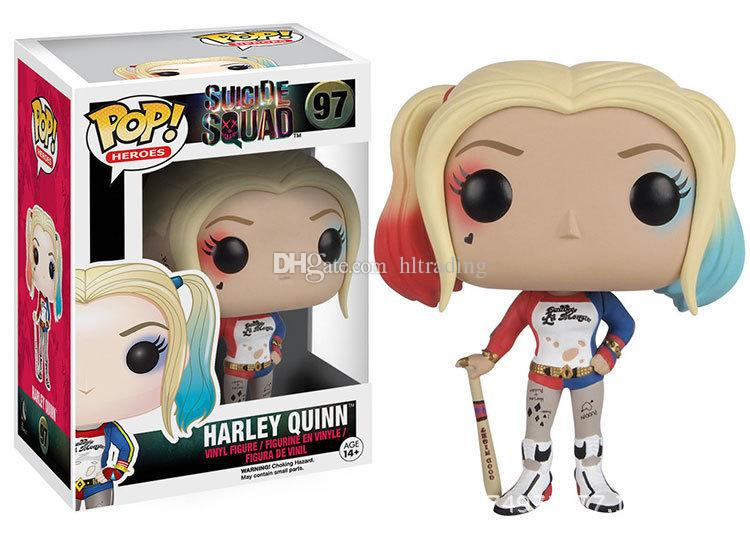 2017 new suicide squad Action Figures Harley Quinn clown Good Quality Action Figures toys C2255