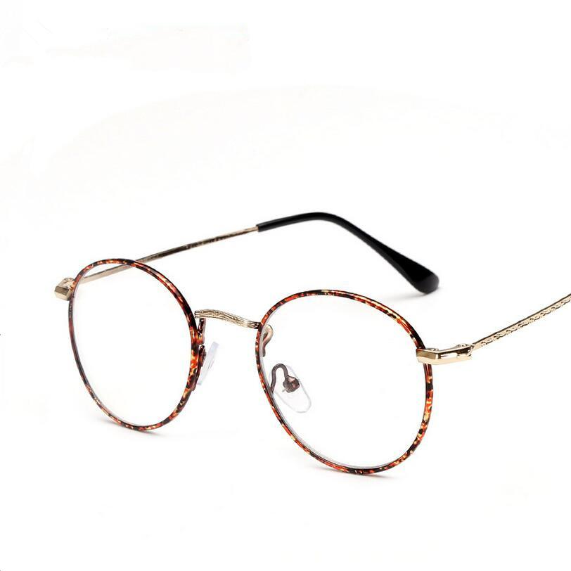 94af73212e0 2019 Wholesale 2016 Vintage Women Glasses Frames Men Brand Design Eyeglasses  Fashion Unisex Optical Glasses Metal Frame From Tonic