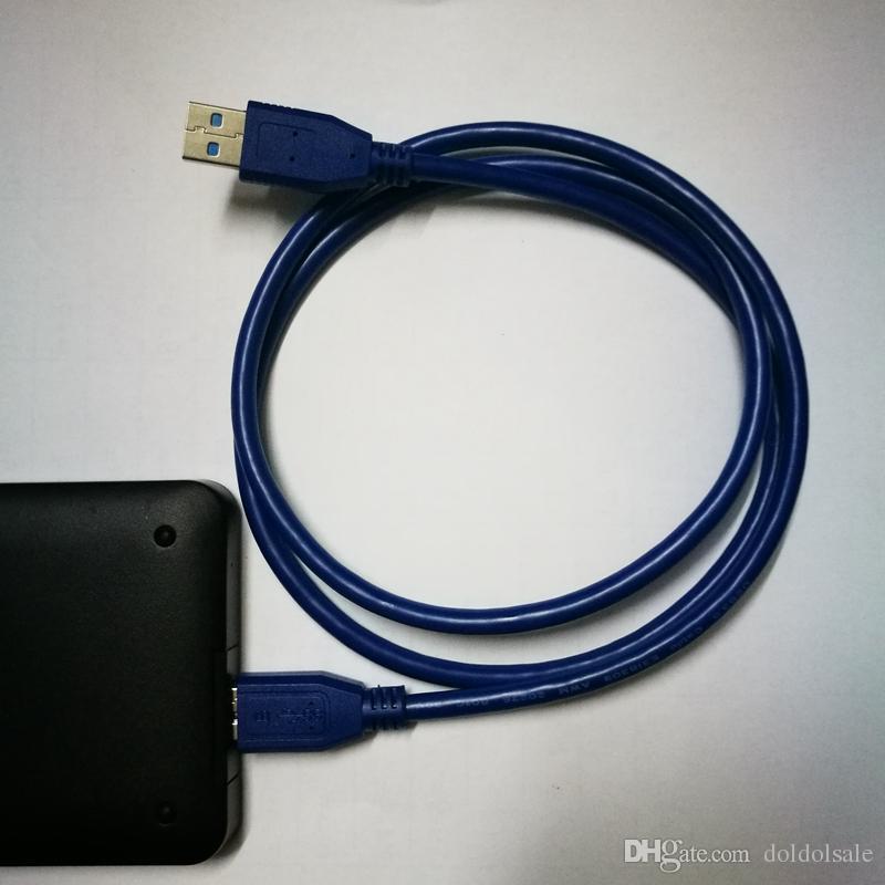 100 개 USB 3.0 마이크로 -B 커넥터 케이블 30cm 100cm 150cm 1ft 3ft 5ft LaCie Seagate WD My Passport 휴대용 하드 드라이브