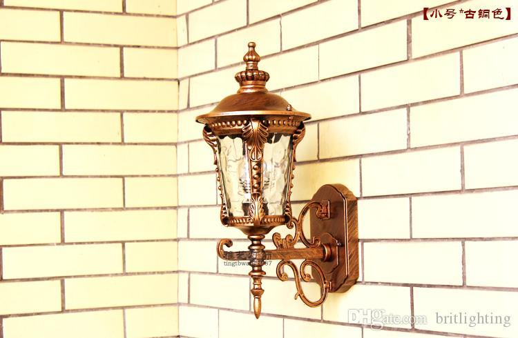 Moderne 1 pièce Lampe Paysage Paysage Lampe de mur de plein air étanche Villa Corridor Balcon Sconce Sconce Courtyard Porte de jardin