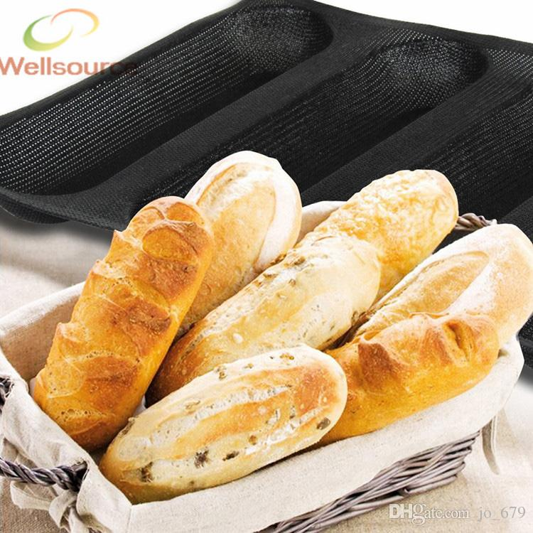 2019 Subway Silform 10 Inch Baguette Baking Pan 4 Molds