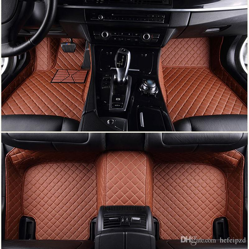 Suv Floor Mats >> 2019 Suv Mpv Custom Seven Seats Car Floor Mats Non Slip Foot Carpets